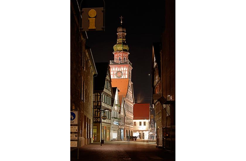 HDR-Aufnahme Rathaus Kirchheim unter Teck