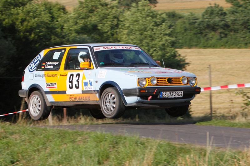 Golf 2 Cup Rallye Main Kinzig Team Schmid/ Boffenmayer
